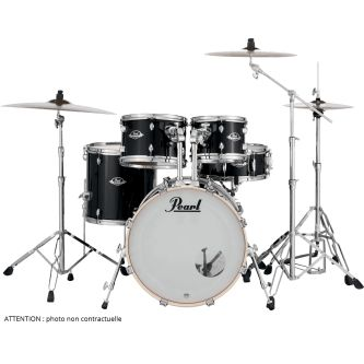 "Batterie Export Fusion 20"" 5 fûts - Jet black"