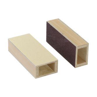 Paire de sandblock