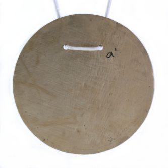 Cloche plaque ronde Ré#4