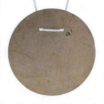 Cloche plaque ronde Do#4