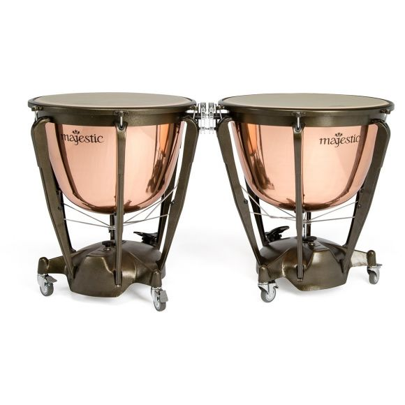 """Timbale """"Symponic"""" cuivre lisse 32"""""""