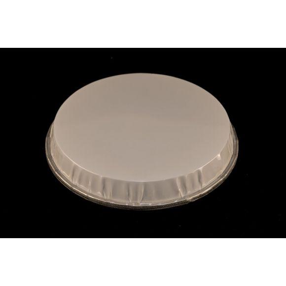 """Peau de bongos plastique blanc 8"""""""