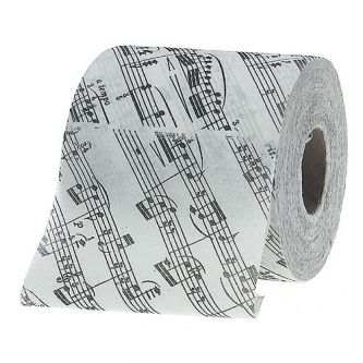 Papier toilette musique