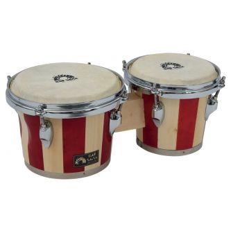 """Paire de bongos """"BSX"""" 7"""" et 8,5"""""""