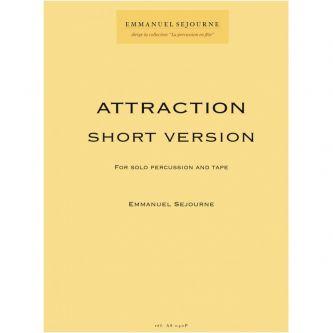 SEJOURNE Emmanuel : Attraction - Short version