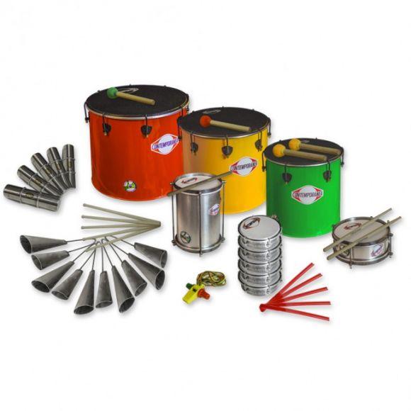 Pack samba 21 instruments - Nesting