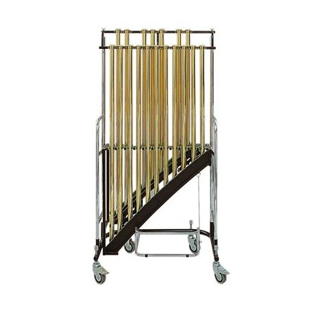 BERGERAULT Jeu de 20 cloches tubes dorés 1,5 octaves