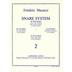 MACAREZ Frédéric : Snare system - 2ème cahier