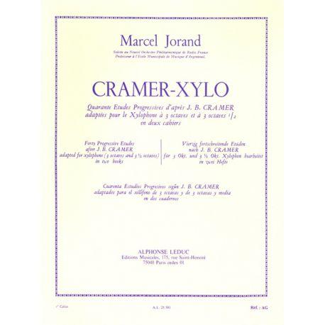 JORAND Marcel : Cramer xylo - 1er cahier