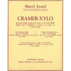 JORAND Marcel : Cramer xylo - 2ème cahier