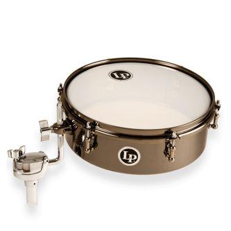 "Drum set timbalès 12"" black nickel"