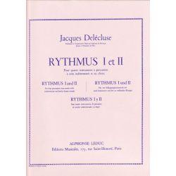 DELECLUSE Jacques : Rythmus I et II