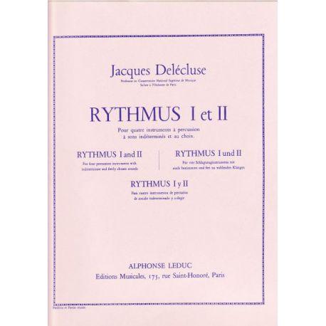 DELECLUSE Jacques : Rythmus 1 et 2