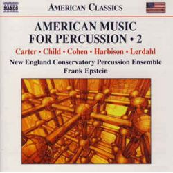 Ensemble Percussion American music for percussion II