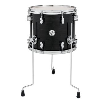 "Tom sur pied 14"" x 12"" - Black Sparkle"