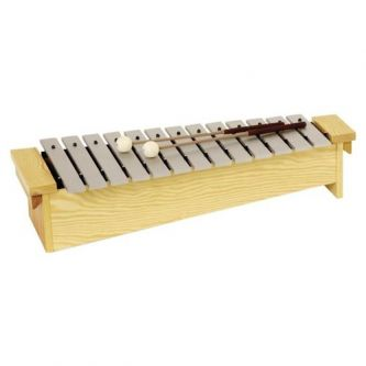 Métallophone soprano diatonique