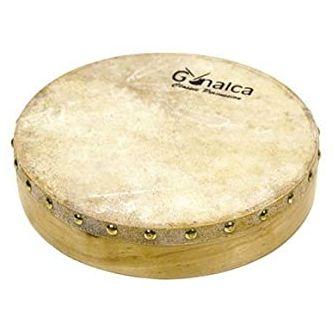 Tambourin peau naturelle 25 cm
