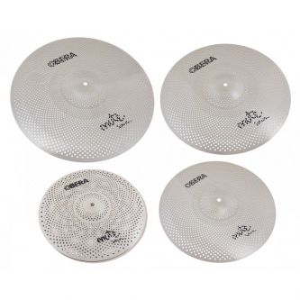 "Set 4 Cymbales Silencieuces Mute - 14"" 16"" 18"" 20"""