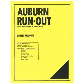 MUZQUIZ Ernest : Auburn Run-Out