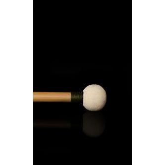 Paire de baguettes bois cuir Ø 26 mm