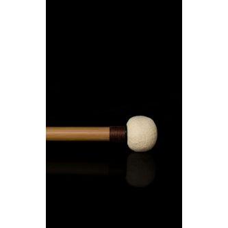 Paire de baguettes cuir doux Ø 27 mm
