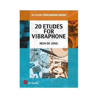 DE JONG Hein : 20 Etudes for Vibraphone