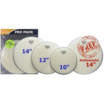 "ProPack (Ambassador sablée 10"", 12"", 14"" + BA-0114-00 14"" gratuite)"
