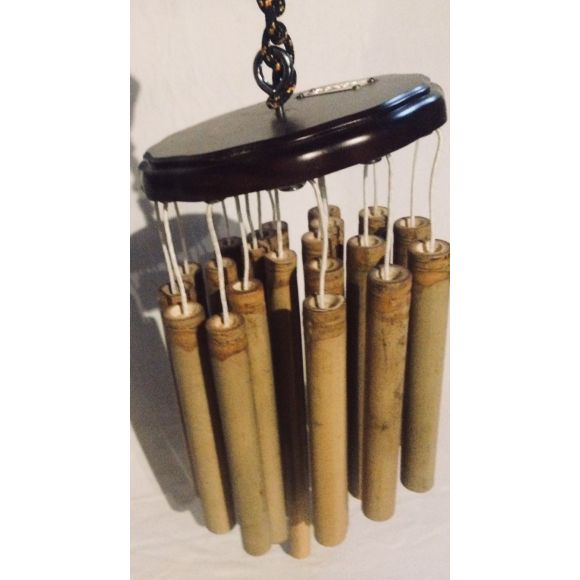 Wind chimes 22 bambous