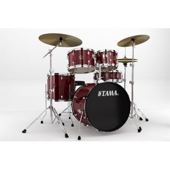 """Batterie """"Rythm Mate"""" 5 fûts 20"""" + accessoires, siège et cymbales"""