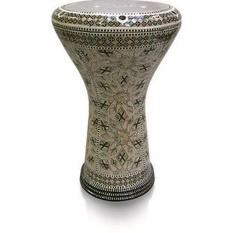 Darbouka Egyptienne professionnelle type nacre