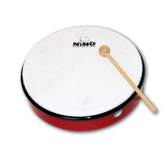 Tambourin 20 cm rouge