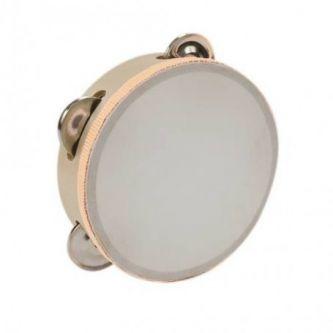 Tambourin 15 cm avec cymbalettes