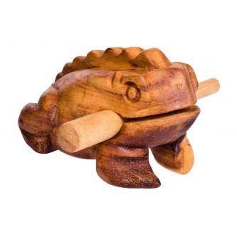 Grenouille guiro bois 11cm