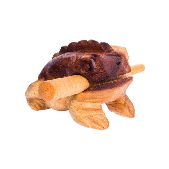 Grenouille guiro bois 5 cm