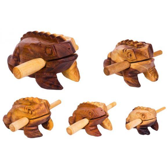 Set de 5 grenouilles guiros