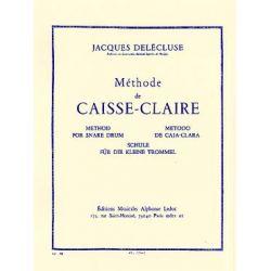 DELECLUSE Jacques : Méthode de caisse claire