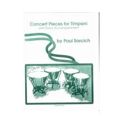 SARCICH Paul : Concert pièces for timpani
