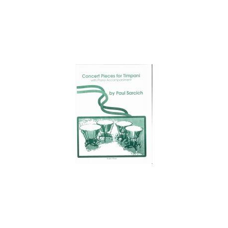 SARCICH Paul : Concert pièces for timpani