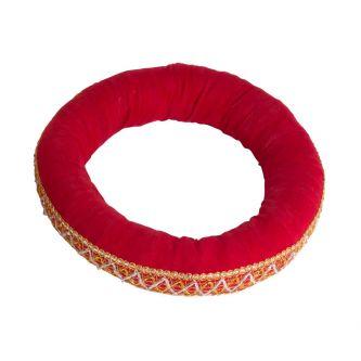 Coussin rond pour Udu, tambour d'eau, ghatam