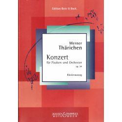 THÄRICHEN Werner : Konzert für Pauken und Orchester