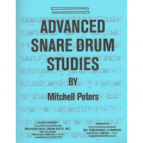PETERS Mitchell : Advanced snare drum studies