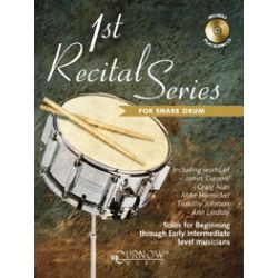Divers auteurs : 1st Récital séries for snare drum
