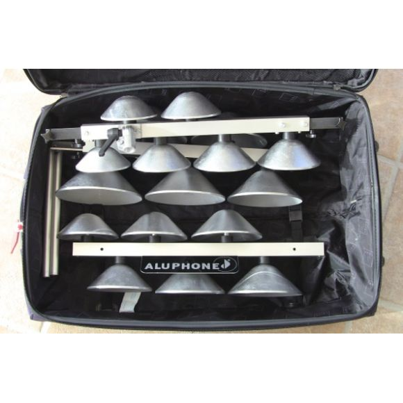 Aluphone concert travel 2,5 octaves
