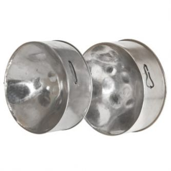 Paire de steel drum tenor
