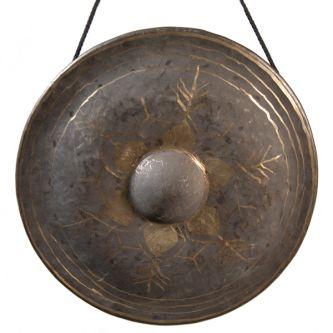 Octave aigue de gongs thai