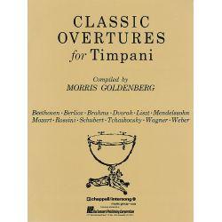 GOLDENBERG Morris : Classic overtures for timpani