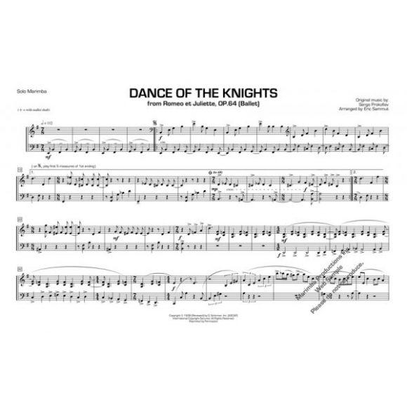 SAMMUT Eric : Dance of the knights (Prokofiev)