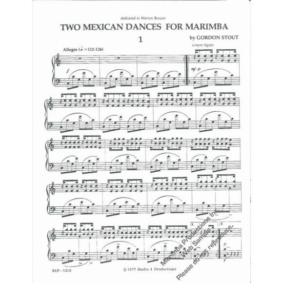 STOUT Gordon : Two mexican dances