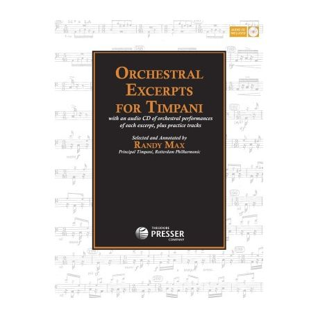 MAX Randy : Orchestral excerpts for timpani