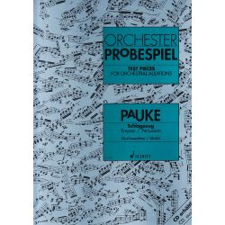 ORCHESTER PROBESPIEL : Timbales et percussions